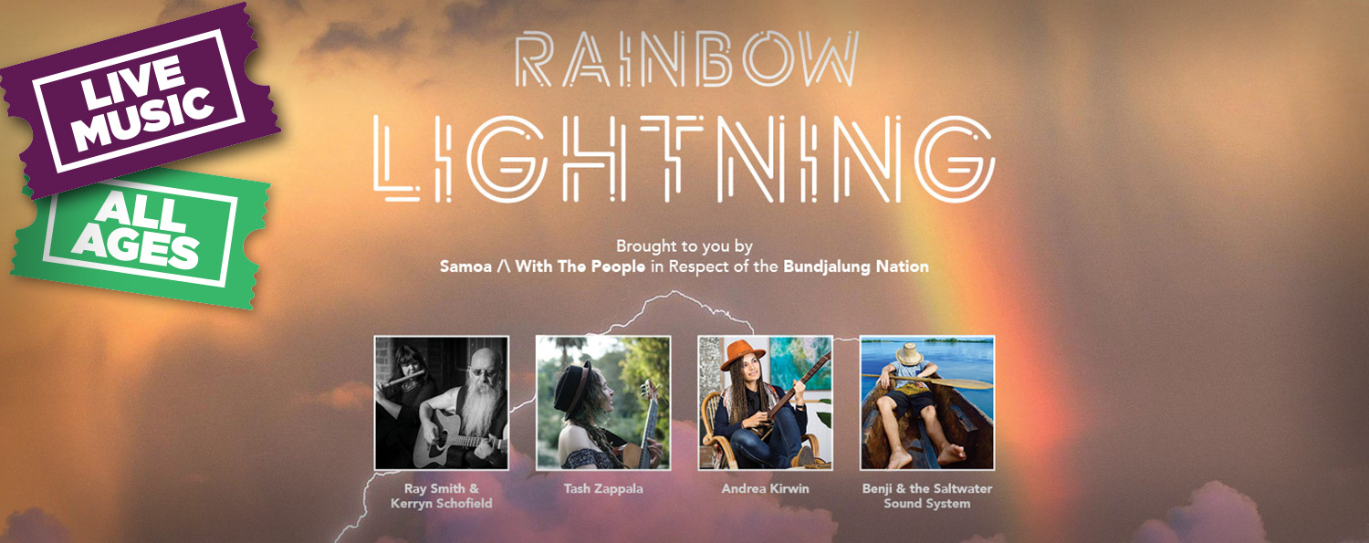 Rainbow Lightning: All Ages Concert