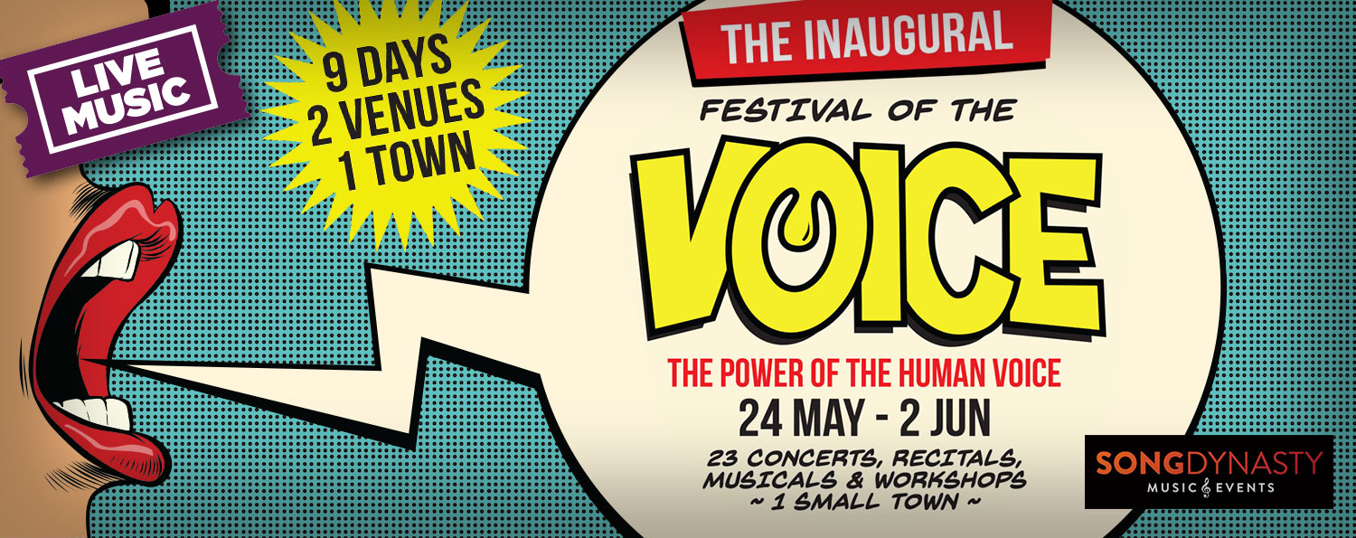 THE INAUGURAL FESTIVAL OF THE VOICE — 24 MAY–2 JUN