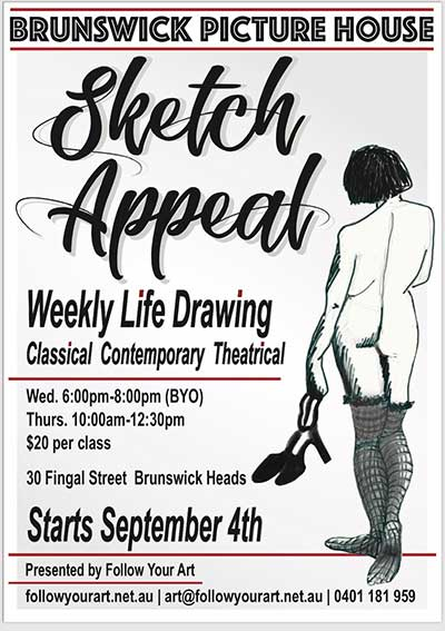 Sketch Appeal Poster A4