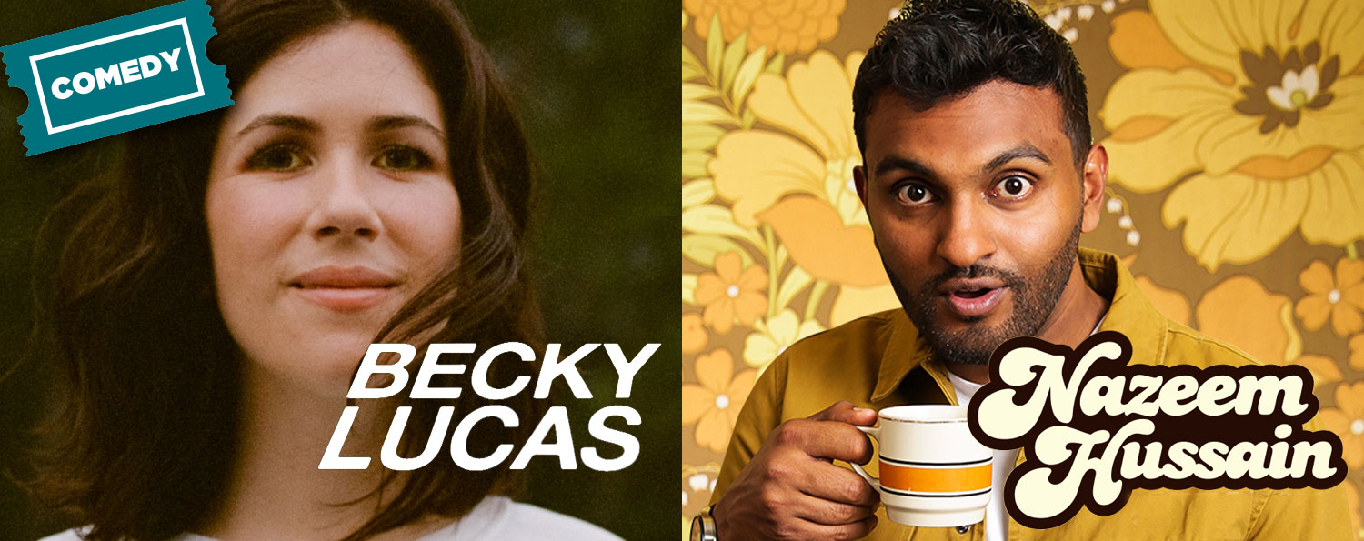 Becky Lucas and Nazeem Hussain: Works in Progress