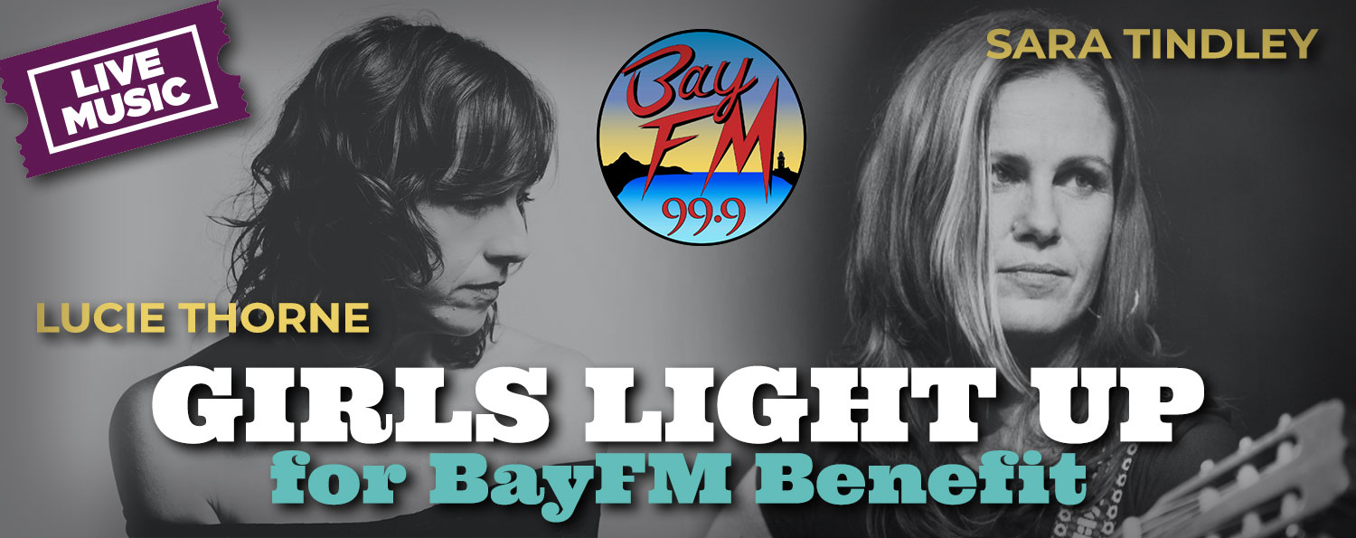 Girls light up for BayFM Benefit